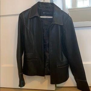 Kenneth Cole Reaction 100% Leather Jacket